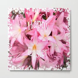 Happy Easter to all! Metal Print