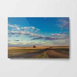 Grain Elevator 15 Metal Print
