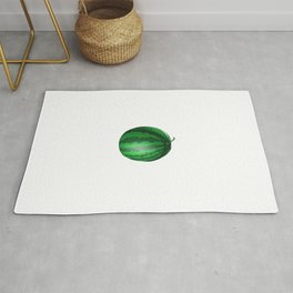 Mom Watermelon Tropical Summer Vibes Fruit Rug