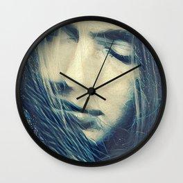 Stardust by Jean-François Dupuis Wall Clock