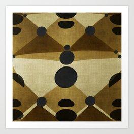 """African retro pattern (Ethnic)II"" Art Print"