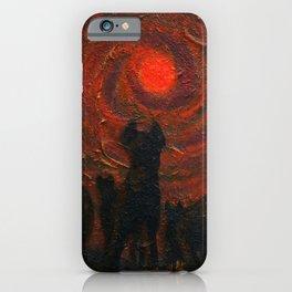 Hyena Sundown iPhone Case