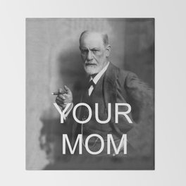 Your Mom Throw Blanket