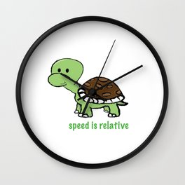 Speed is Relative Wall Clock