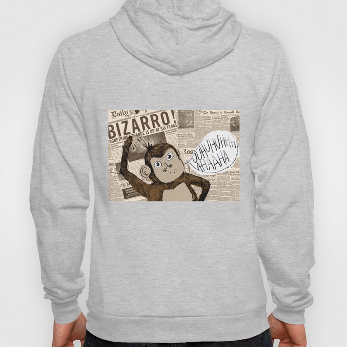 Bizarro Monkey Hoody