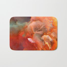 Elefthería (Abstract 56) Bath Mat