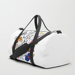 Life Is What You Bake It Baking And Dessert Lover Design Duffle Bag
