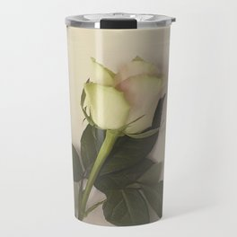 Dusky pink rose Travel Mug