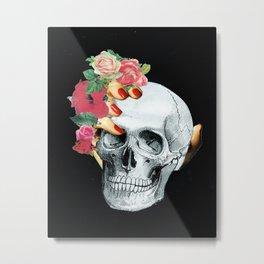 Skull Crusher Metal Print