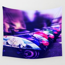 CamdenTown Vespastyle sitting Wall Tapestry