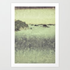 Long Ways to Inchen Art Print