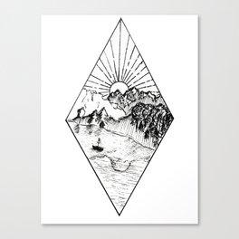 New Zealand's beauty *Te Anau Canvas Print