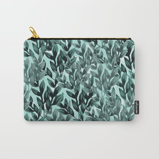 Leaf pattern II Carry-All Pouch