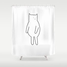 Cat 67 Shower Curtain