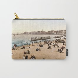 The harbour, Margate, Kent, England, ca. 1897 Carry-All Pouch