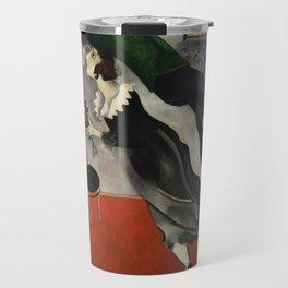 Marc Chagall, The Birthday 1915 Artwork, Posters Tshirts Prints Bags Men Women Kids Travel Mug