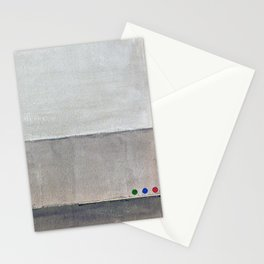 Hayward, minimalist abstract, NYC artist Stationery Cards