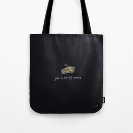 Just a Lot of Cheese Tote Bag