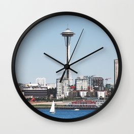 Seattle Wall Clock