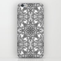 snowflake iPhone & iPod Skins featuring Snowflake   by ArtLovePassion