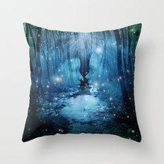 magical wood Throw Pillow