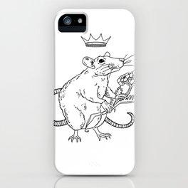 Rat King iPhone Case