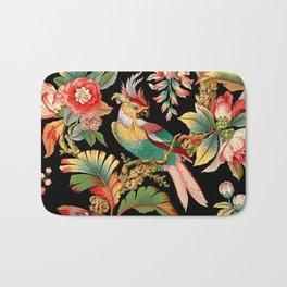 French Wallpaper Bath Mat