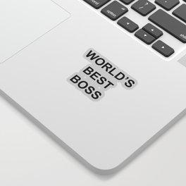 World's Best Boss - the Office Sticker