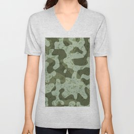 NOISE IV - (Noise Pattern Series) Unisex V-Neck