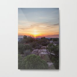 A Sunset Unlike Any Other Metal Print