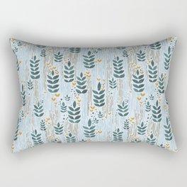 Summer rain Rectangular Pillow