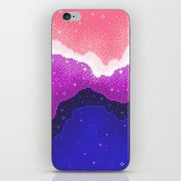 Genderfluid Pride Galaxy iPhone Skin