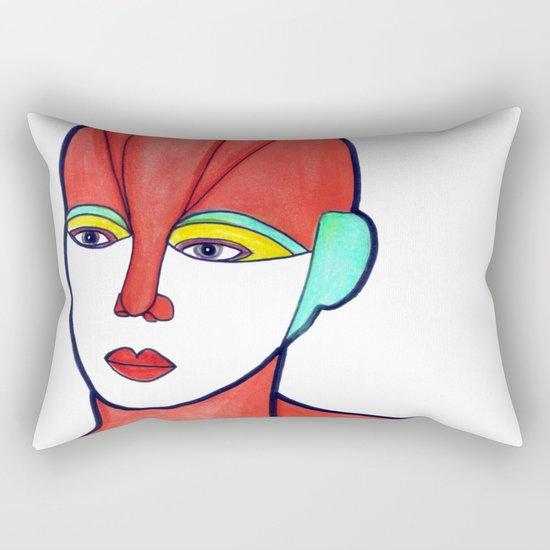 Aura (previous age) Rectangular Pillow