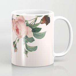 Butterflies in the Rose Garden Coffee Mug