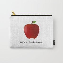 "You're My Favorite Teacher - cards and gifts to say ""Thank You"" Carry-All Pouch"