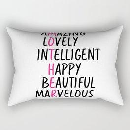 Mother Day Rectangular Pillow
