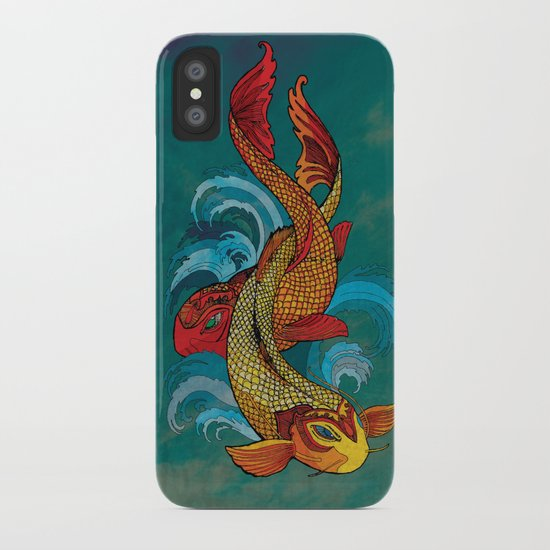 A tale of two fins. iPhone Case