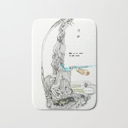 KARMIC IMPULSES: From Flora to Fauna Bath Mat