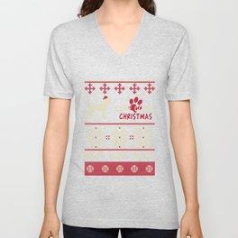 Cane Corso christmas gift t-shirt for dog lovers Unisex V-Neck