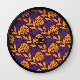 Monstera #1 – Notebooks & more Wall Clock