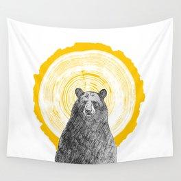 Ring Bearer - Gold Wall Tapestry