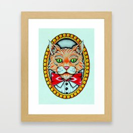 Mr Kitty  Framed Art Print