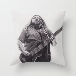 Dave Schools Throw Pillow