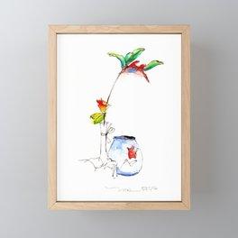 Bird of Paradise 2016 Framed Mini Art Print