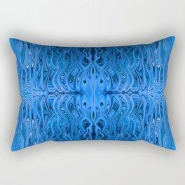 Deep Blue Squid by Chris Sparks Rectangular Pillow
