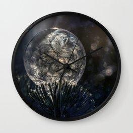 The spirit of winter Wall Clock