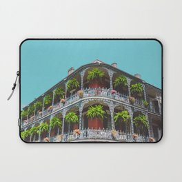 Hanging Baskets of Royal Street, New Orleans Laptop Sleeve