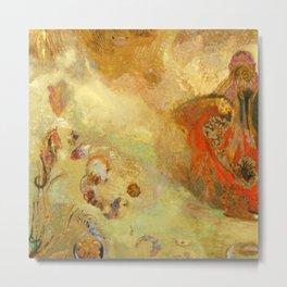 "Odilon Redon ""Underwater Vision"" Metal Print"