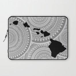 Hawaiian Islands [Tribal Illustration] Laptop Sleeve
