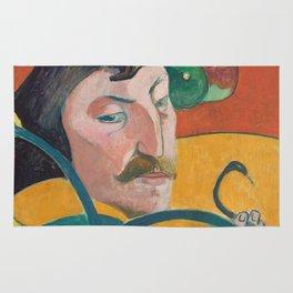 Paul Gauguin - Self Portrait Rug